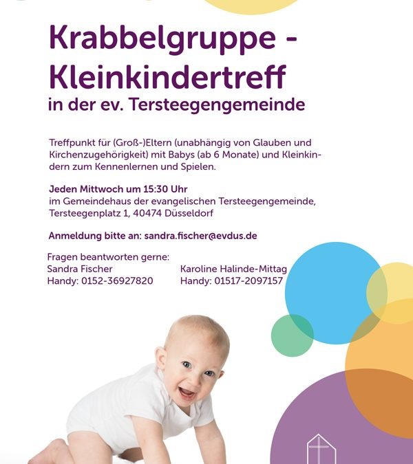 Krabbelgruppe – Kleinkindertreff