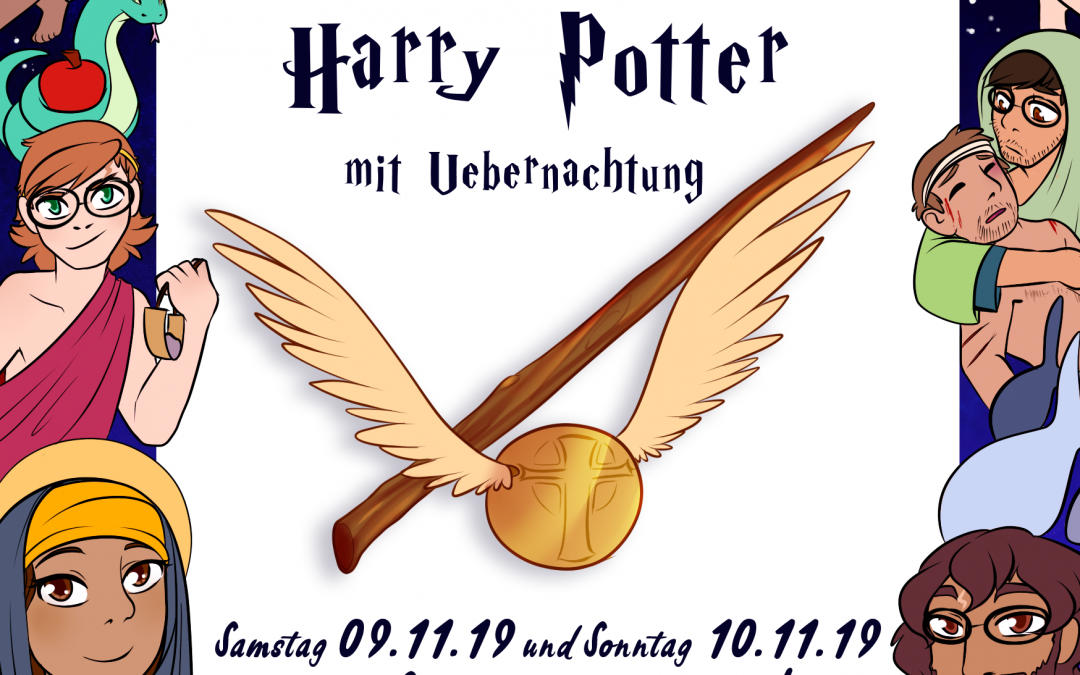 Harry Potter-Kinderkirche 9.-10.11.2019