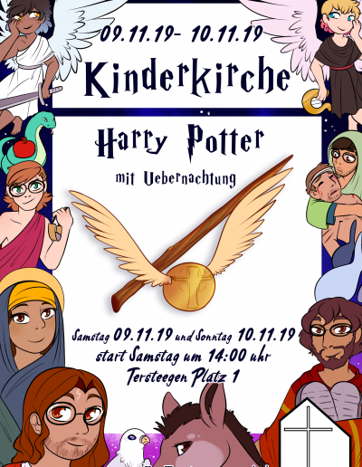 Harry Potter-Kinderkirche 9.-10.11.2019