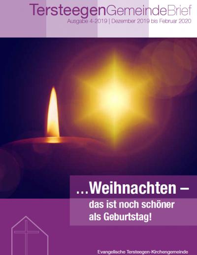 Neuer Gemeindebrief 04/2019