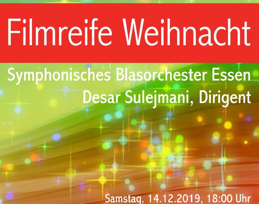 Symphonisches Blasorchester Essen in Golzheim am 14.12.19, 18 Uhr