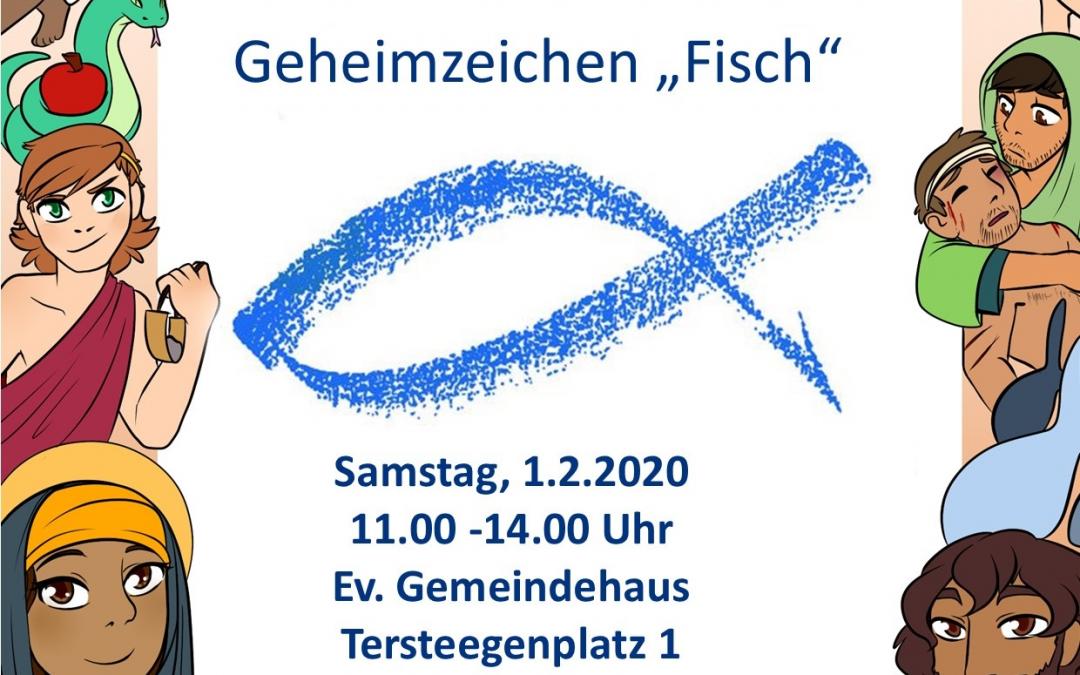 Kinderkirche in Tersteegen am 01.02.2020