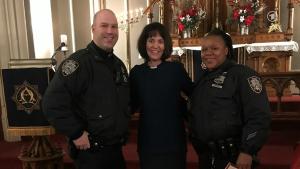 Miriam Groß, Pfarrerin der deutschsprachigen evangelisch-lutherischen Gemeinde in New York, Bild BR
