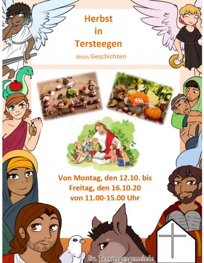 Herbstbibeltage in Tersteegen vom 12. bis 16.10.2020