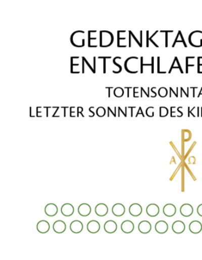 Tersteegen-Newsletter Nr. 48  22. November 2020